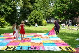 Foto van een stadspicknick georganiseerd door Peen en Ui in Leiden.