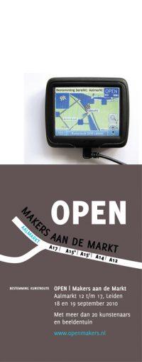 OPEN | Makers aan de Markt - Kunstroute