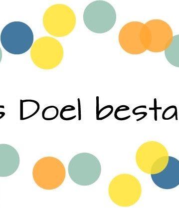 Logo 100 jaar Ons Doel Festival met Peen en Ui